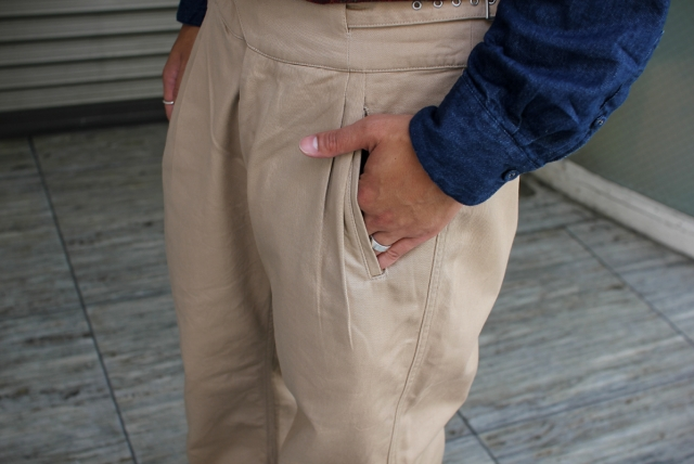 Tehu Tehu / Trousersに新色登場です。