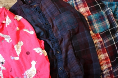TIGRE BROCANTE / 遊びのあるシャツ