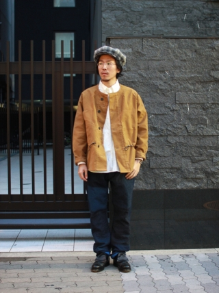 Quilp / Double Front Jacket