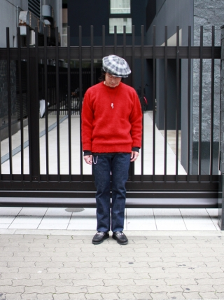 Shetland Woolen Co. / Shaggy dog knit Plain