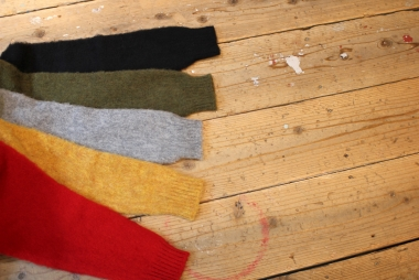 Shetland Woolen Co. / カラー豊富です。