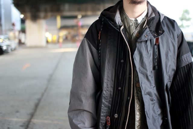 Quilp × SCiENCE / M-51 Fishtail Parka
