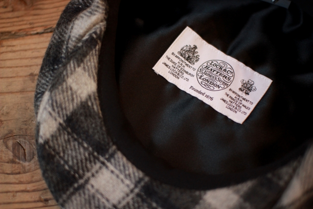 Quilp × LOCK&Co. Hatters / LONDON CLOTH CHECK