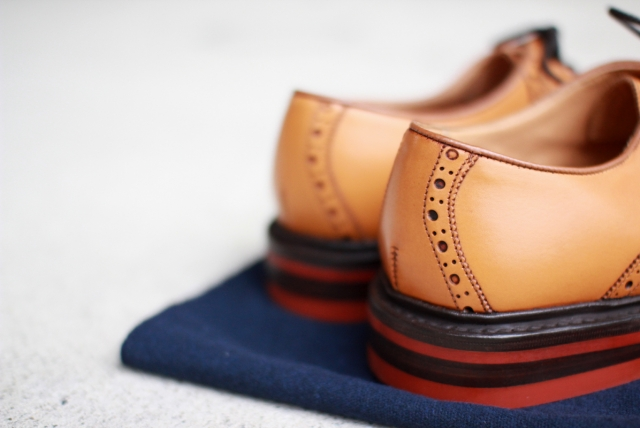 Quilp by Tricker's / M7607 Saddle shoe
