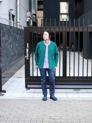 TIGRE BROCANTE / Stallman Cardigan