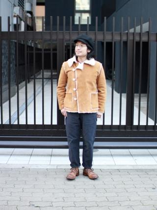 TIGRE BROCANTE / Mouton Jacket Tan
