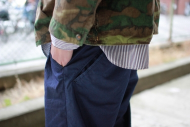 UNCLE SAM Special 18SS Vol.3 / ORGAN PANTS Indigo Nylon