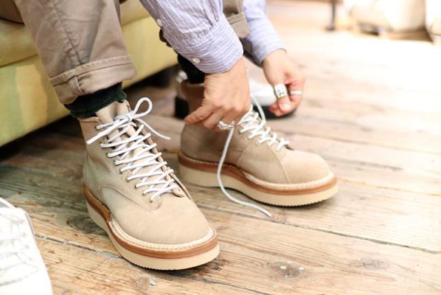 お客様オーダー。 / White's boots