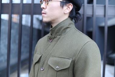 冬のジャケットスタイル / MANIFATTURA CECCARELLI