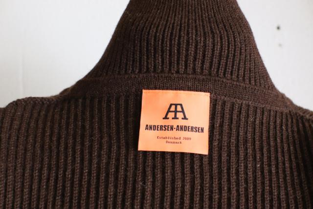 ANDERSEN-ANDERSEN/上質なメリノウールニット